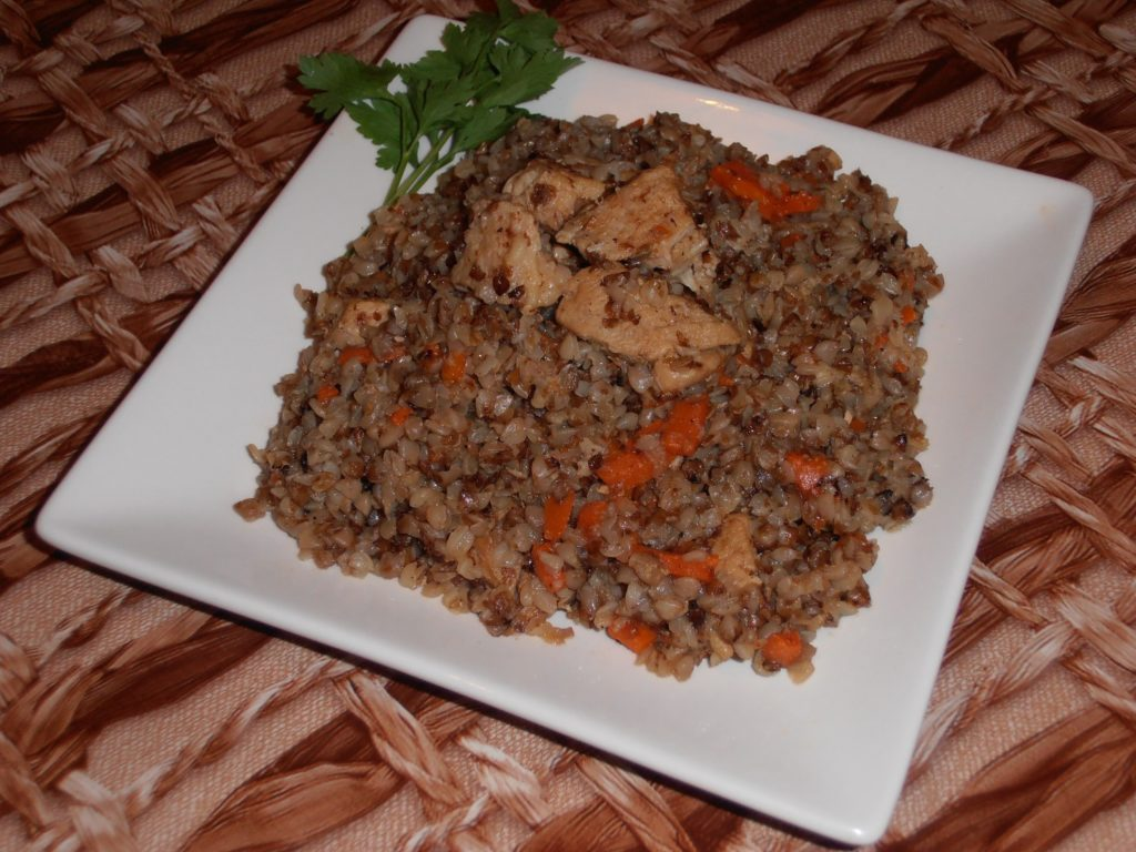 Гречневая каша с мясом в мультиварке рецепт