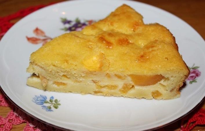 Шарлотка с тыквой и яблоками в мультиварке рецепт
