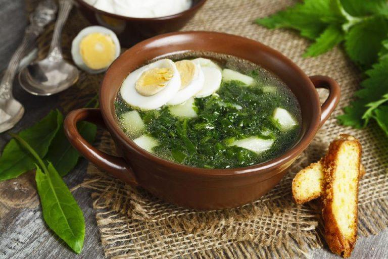 суп с щавелем рецепт
