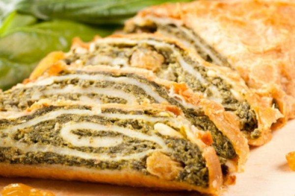 Пирог из бездрожжевого слоеного теста с курицей рецепт с пошагово в