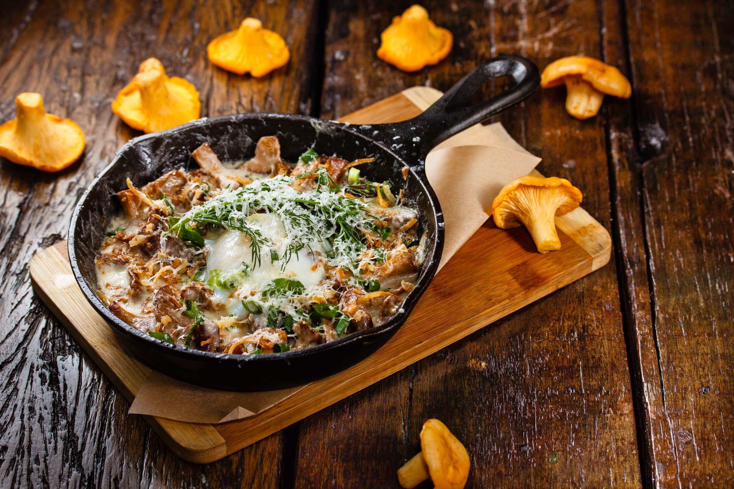 Рецепт жульен с грибами в сковороде рецепт