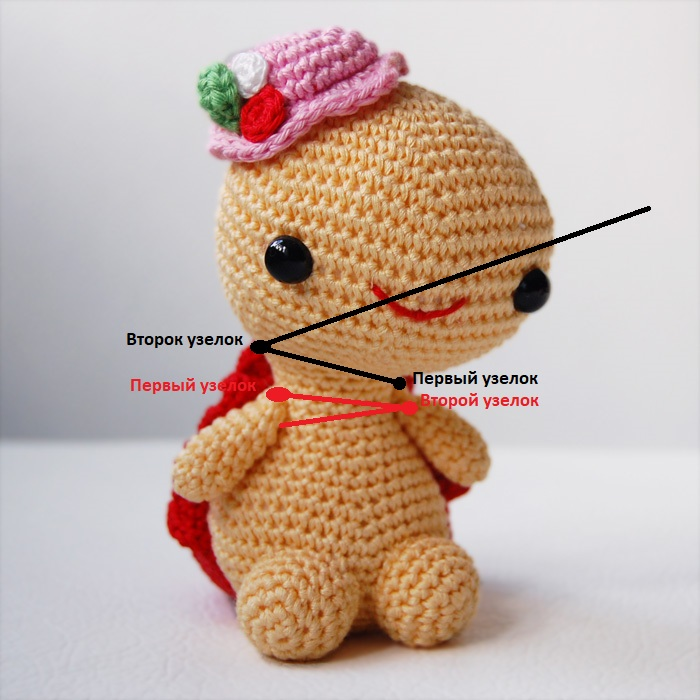 Как скреплять детальки с игрушкой