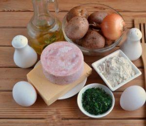 Драники с ветчиной и сыром рецепт