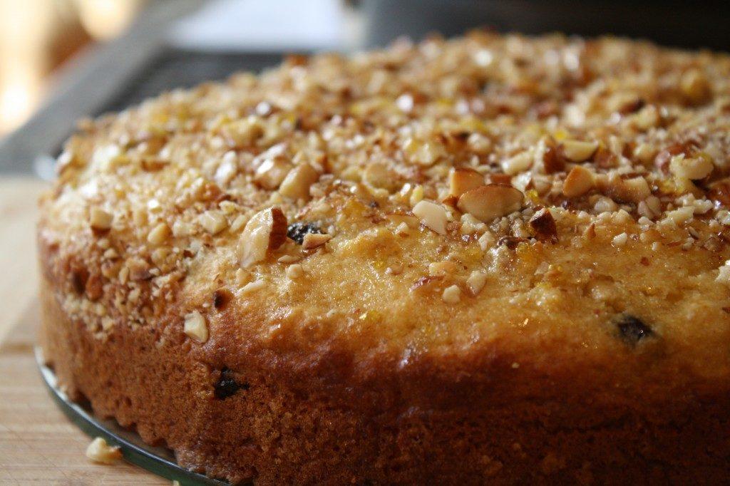 Кекс с орехами рецепт