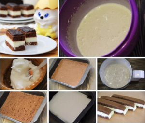Молочный ломтик Киндер рецепт