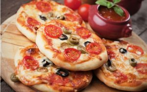 Мини пиццы рецепт