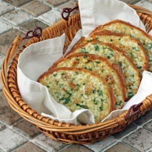 батон с сыром и чесноком рецепт