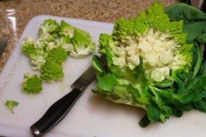Салат из цветной капусты с яйцом рецепт