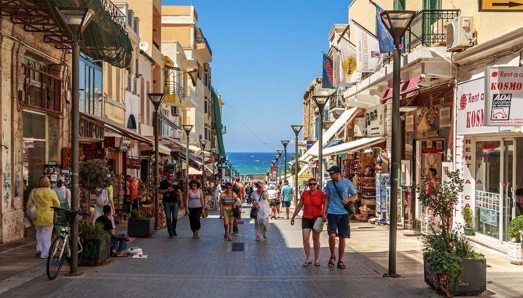 Греция Крит Ираклион