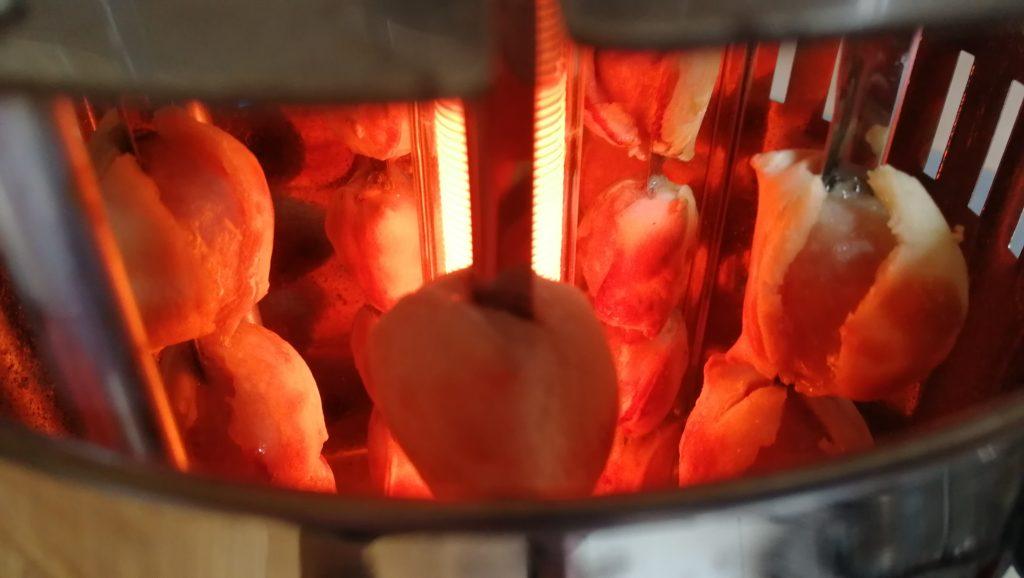 Полуготовые пельмени останкинские традиционные в электро шашлычнице
